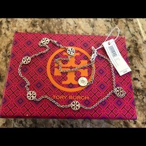Tory Burch Jewelry - NWT TORY BURCH DELICATE LOGO STATION NECKLACE $98